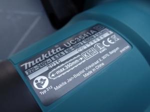 Die technischen Produktdetails auf der UC3541 aus dem Hause Makita.